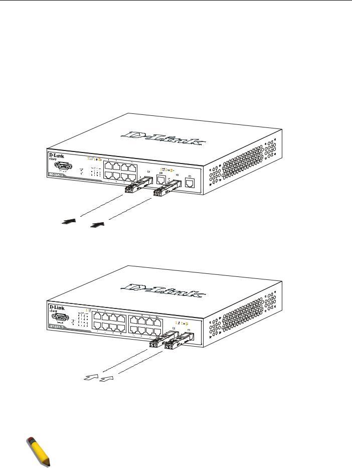 D-Link XSTACK DGS-3200 User Manual