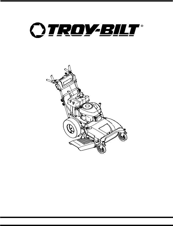 Troy-Bilt TB WC33 XP User Manual