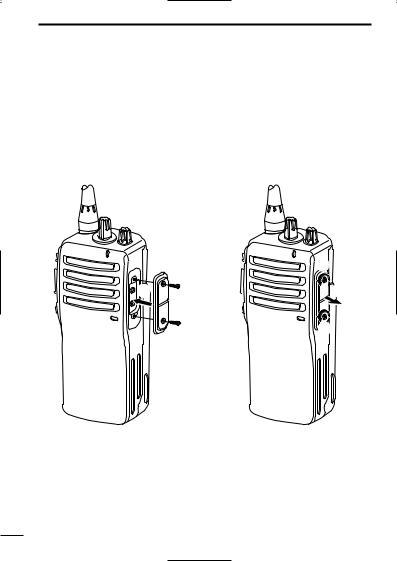 Icom IC-F25, IC-F15 User Manual