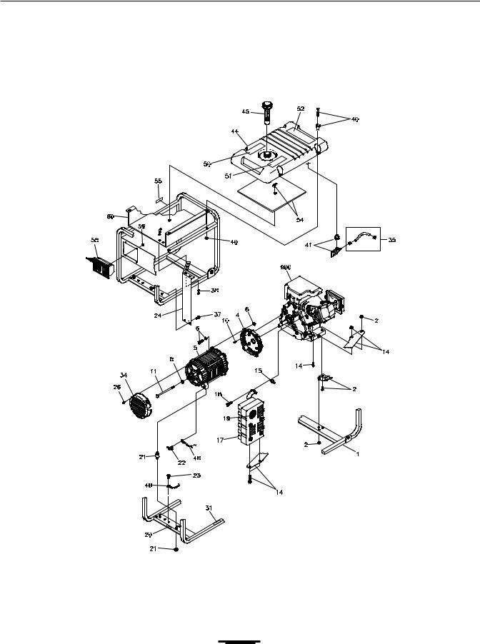 Briggs & Stratton 01654 (5500W) User Manual