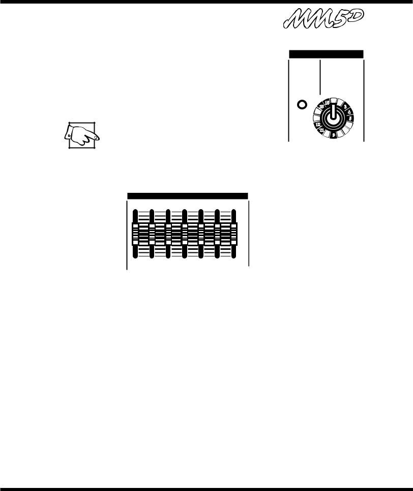 Yorkville Sound YS1083, MM5D User Manual