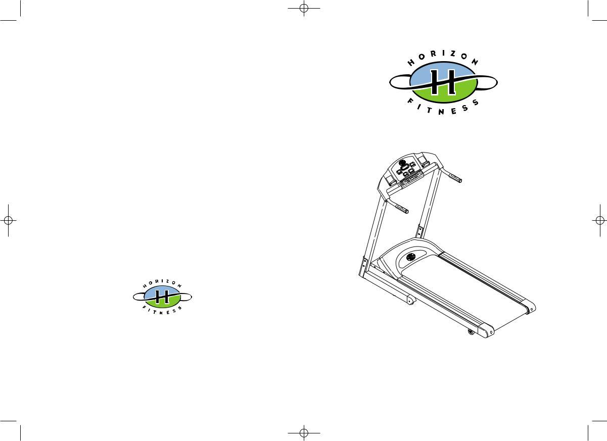 Horizon Fitness QUANTUM II User Manual