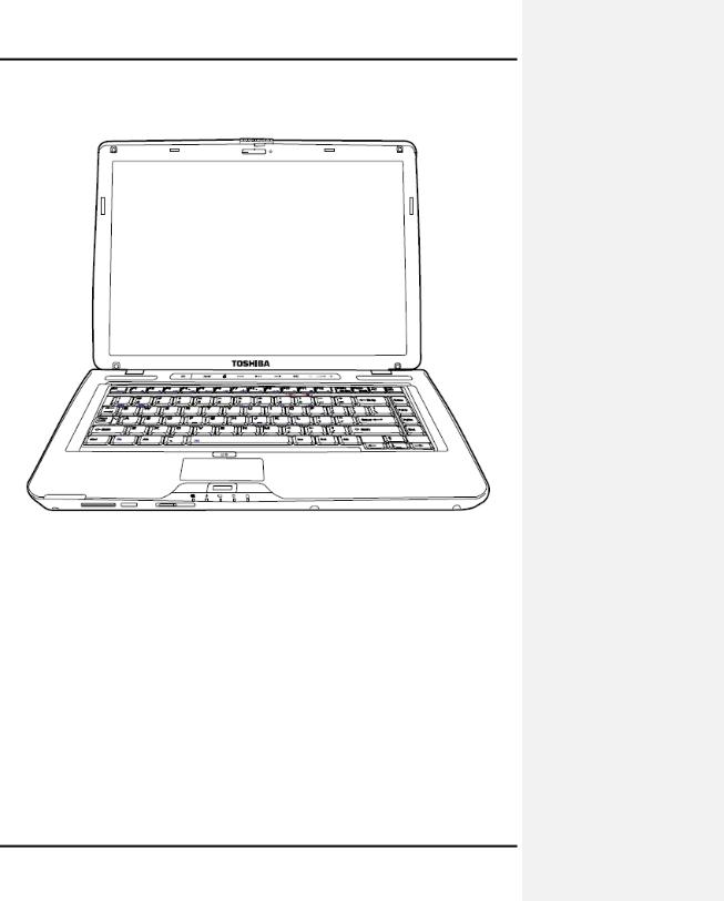 Toshiba satellite u500 portege m900d Service Manual