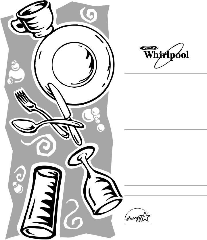 Whirlpool DU920, DU909, DU900, DU910, DU911, DUL100 User