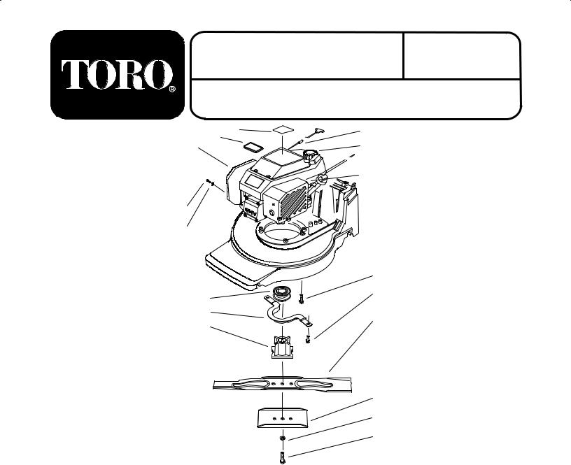 Toro 20822 Parts Catalogue