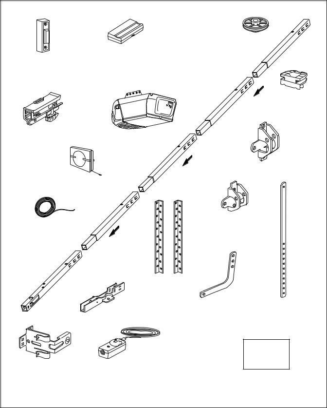Chamberlain PD300DM User Manual