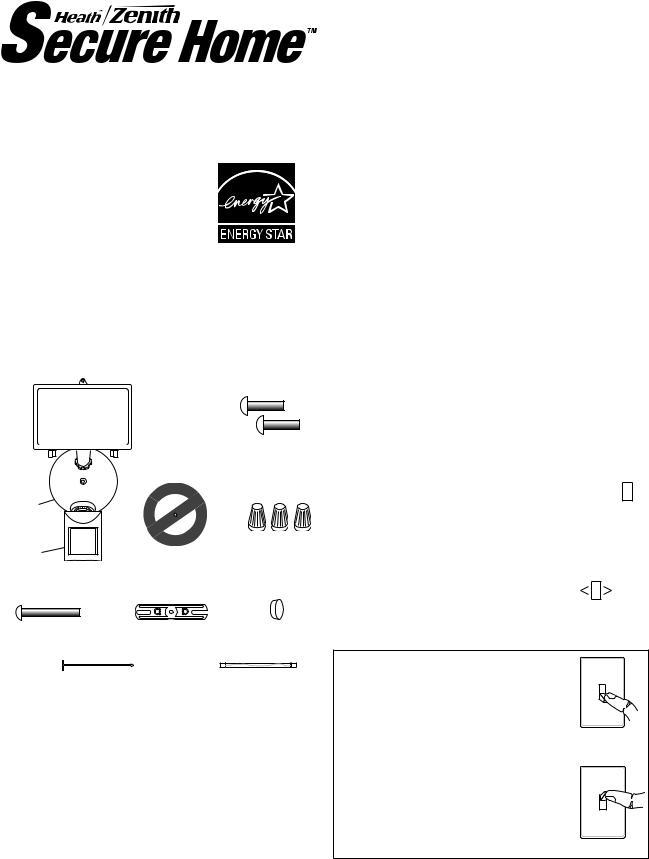 Heath Zenith SH-5511 User Manual