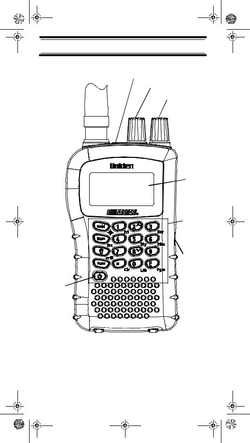 Uniden BC72XLT User Manual