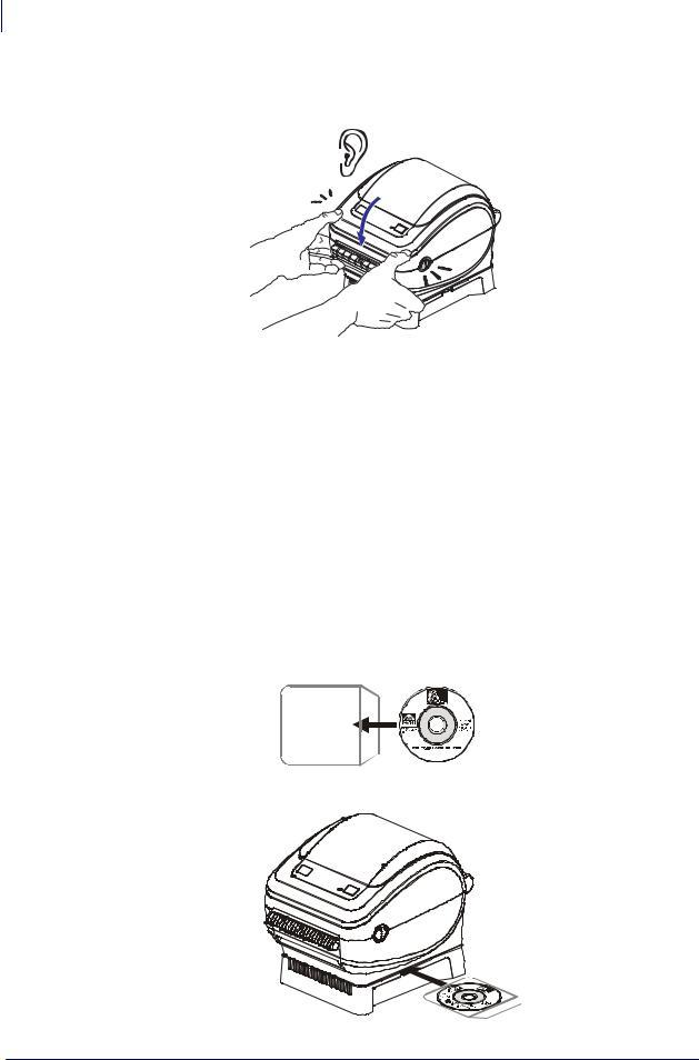 Zebra Technologies ZP 450 User Manual