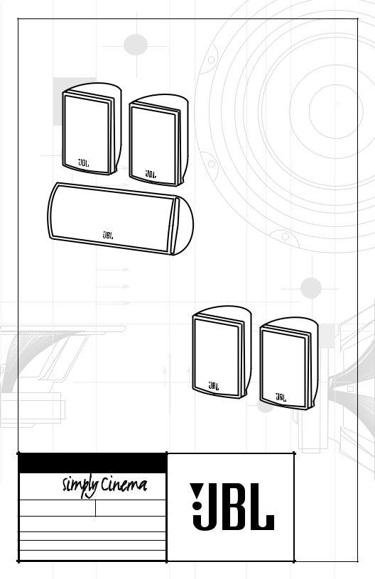 JBL TRIO135 User Manual