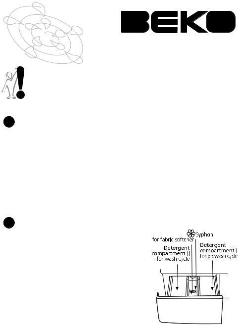 Beko WM 6355 W, WM 6155 W User Manual