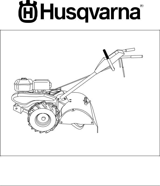 Husqvarna CRT900 User Manual