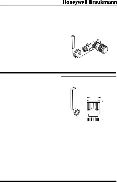 Honeywell T104F User Manual