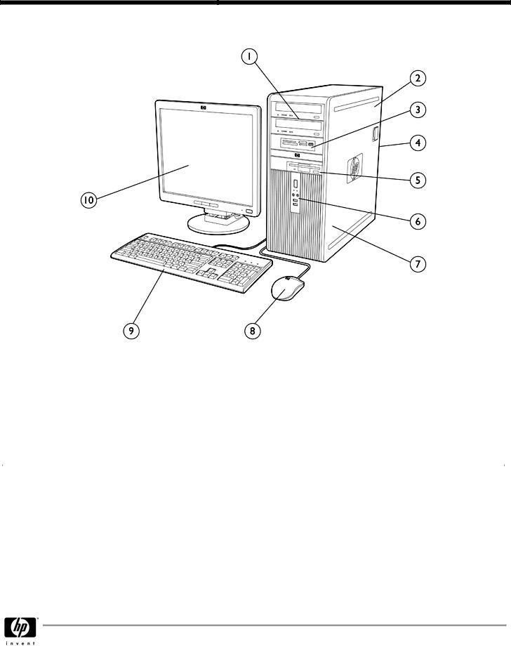 HP DC7800 User Manual