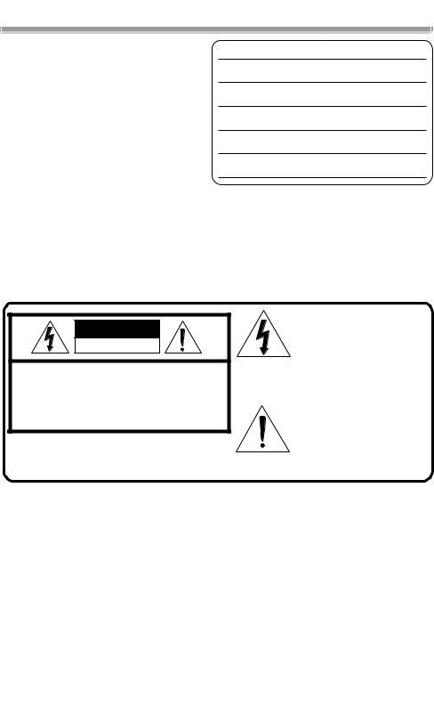 Panasonic PV-GS200, PV-GS120 User Manual