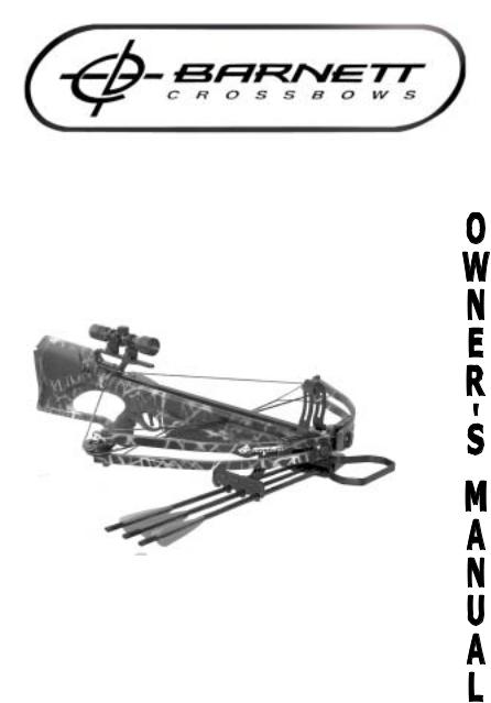 Barnett Crossbows QUAD 400 User Manual
