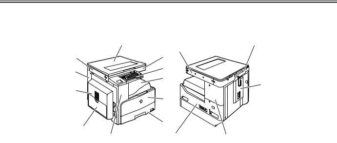 Canon iR2016, iR2020 Service Manual