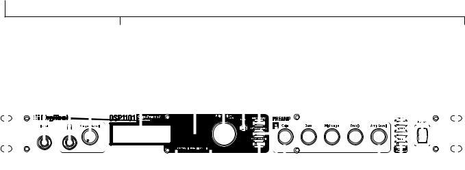 DigiTech GSP1101 User Manual