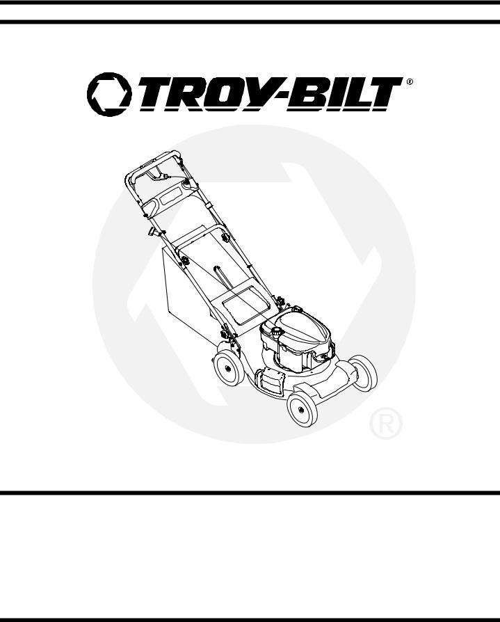 Troy-Bilt 830 User Manual