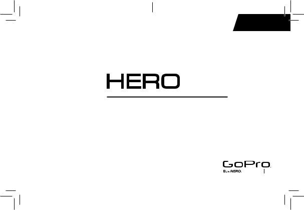 Gopro HD HERO CHDHA-301 User Manual