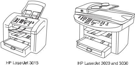 HP LaserJet 3015, 3020, 3030 All-in-One Service Manual