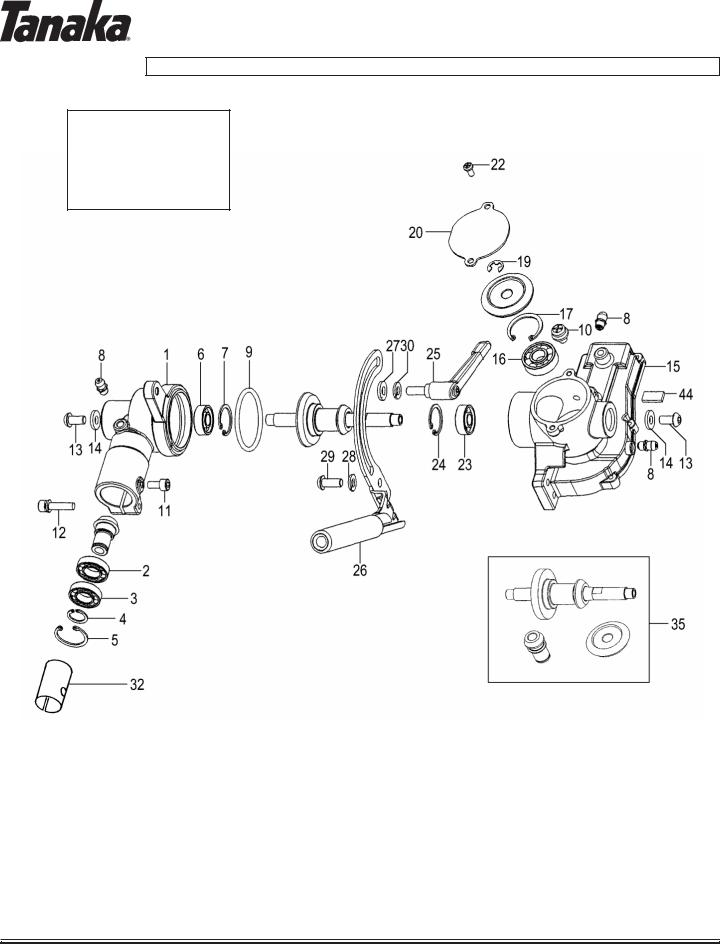 Tanaka TPH-210-200 User Manual