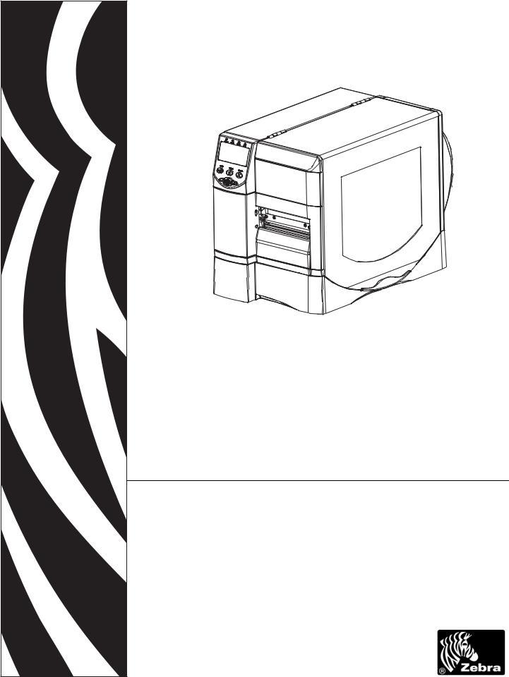 Zebra RZ600, RZ400 User Manual