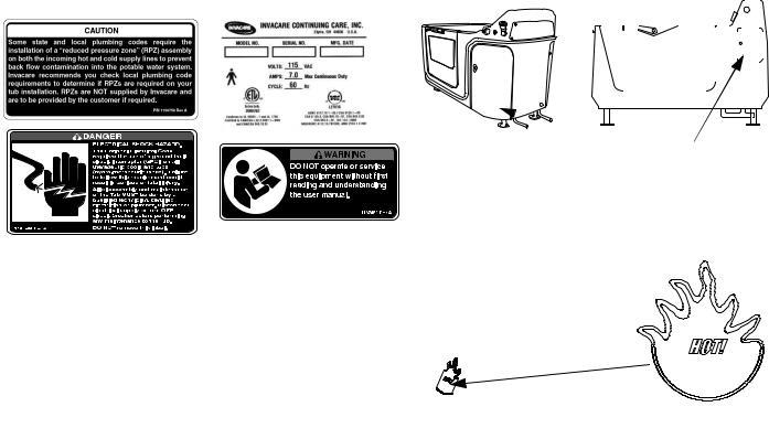 Invacare 3602GXL User Manual