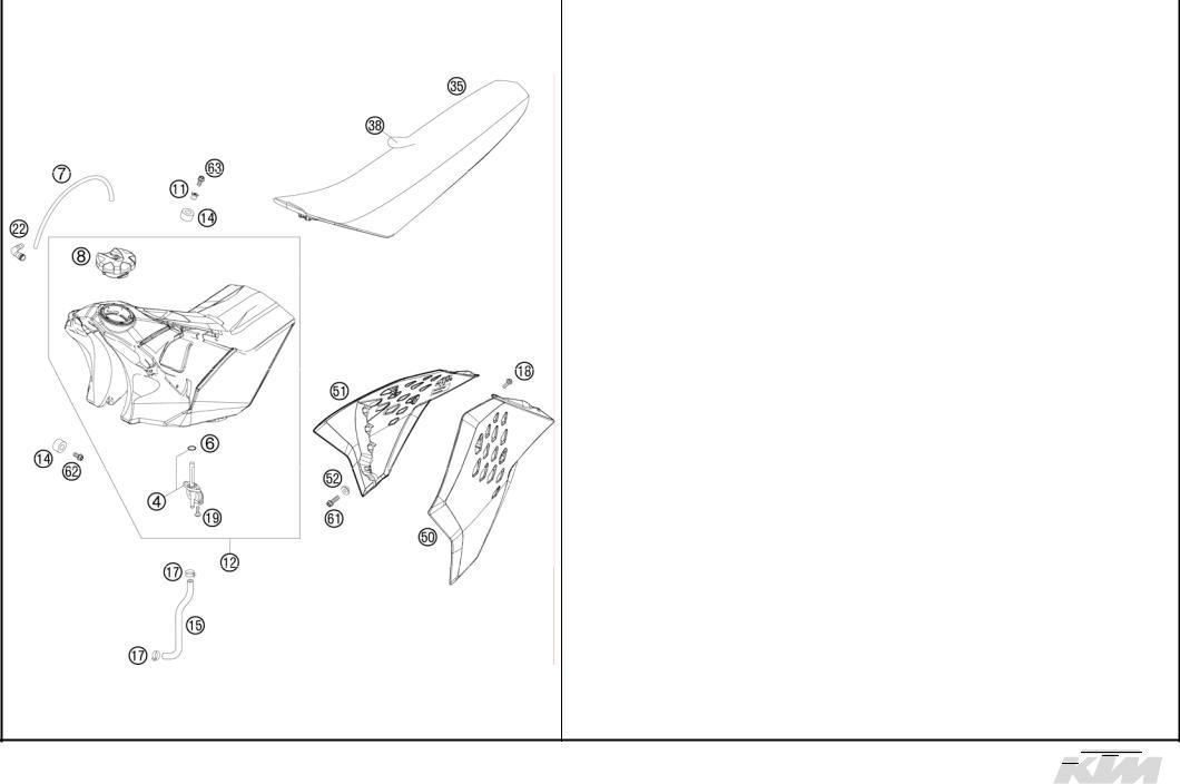 KTM 125 SX 2008 User Manual