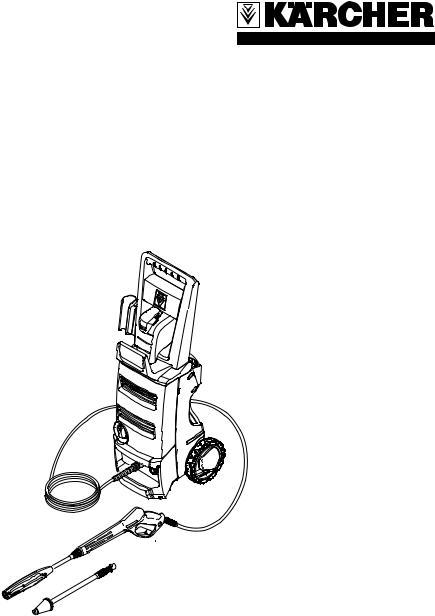 Karcher K 3.68 M User Manual