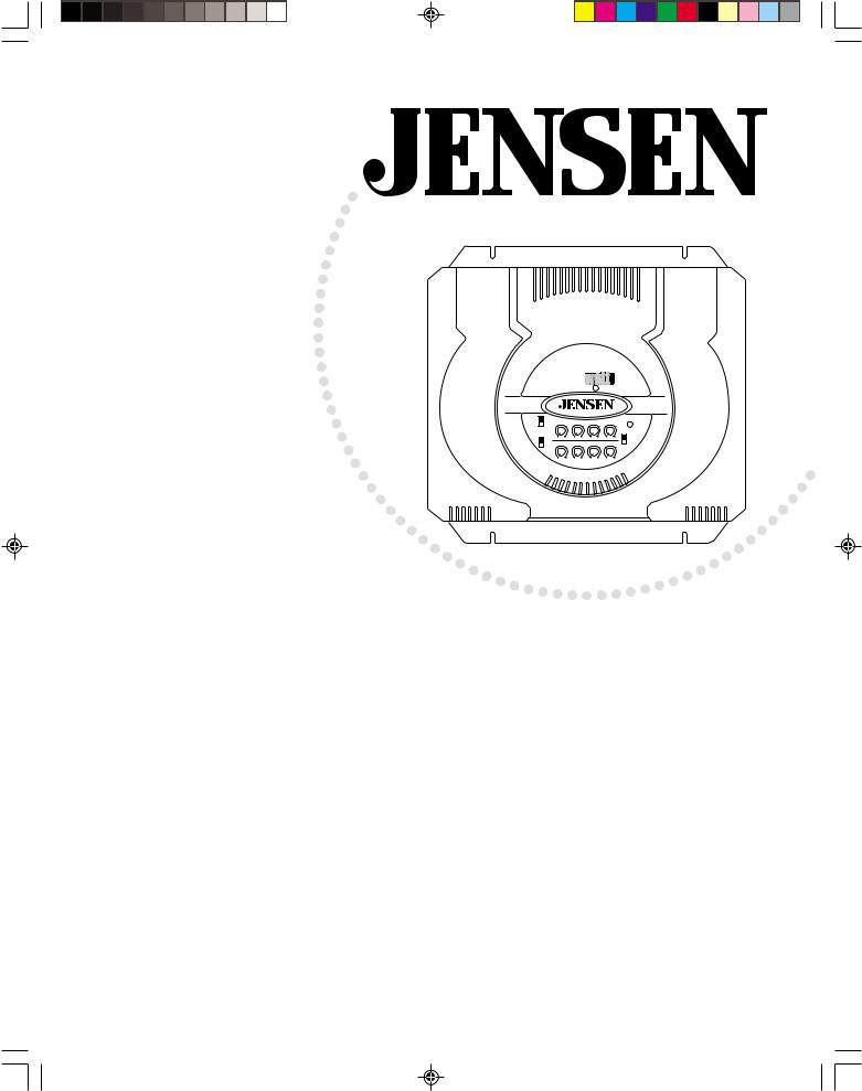 Jensen A600HLX, A400HLX User Manual