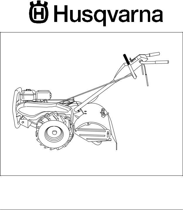 Husqvarna 650CRT User Manual