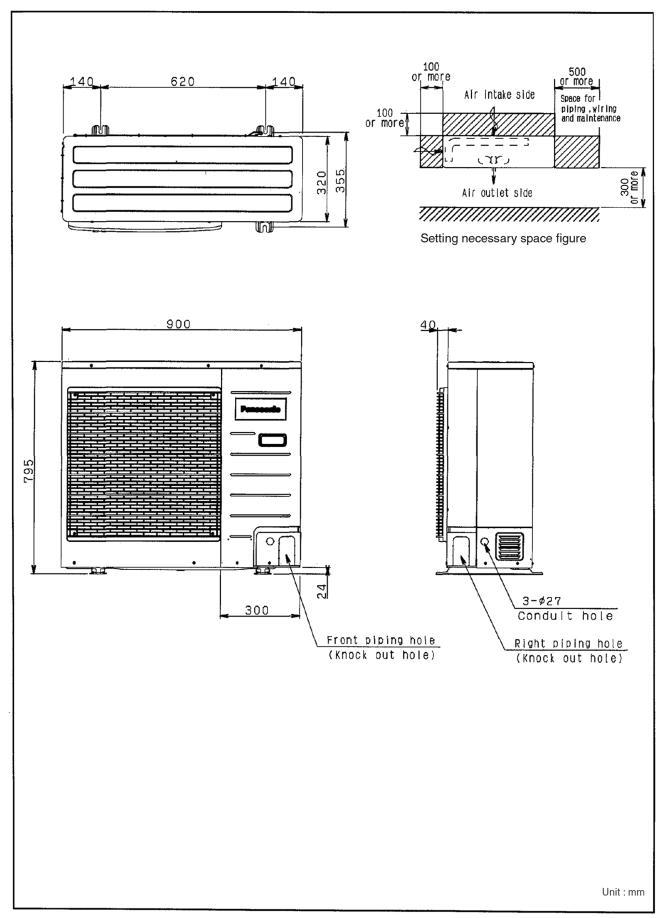 Panasonic CS-F_DD1E5 CU-B_DBE5 Service Manual