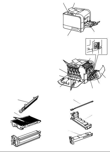 Konica Minolta Bizhub C20P User Manual