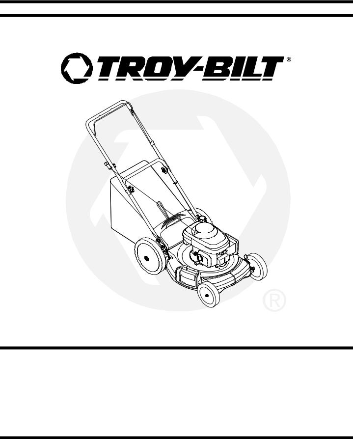 Troy-Bilt Series 540 User Manual