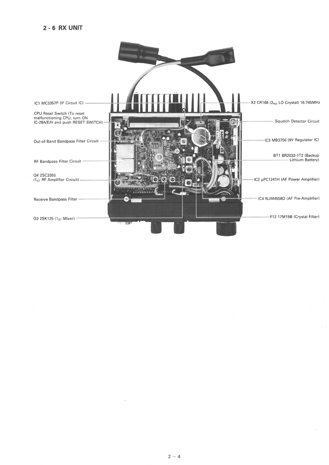 Icom IC-28H, IC-28A, IC-28E Service Manual