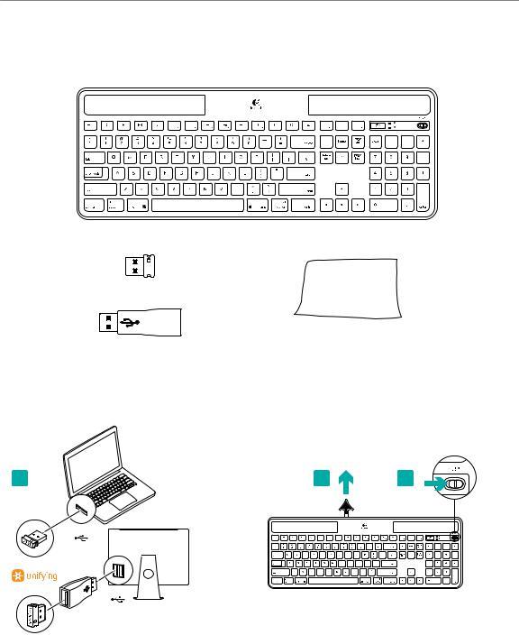 Logitech K750 User Manual