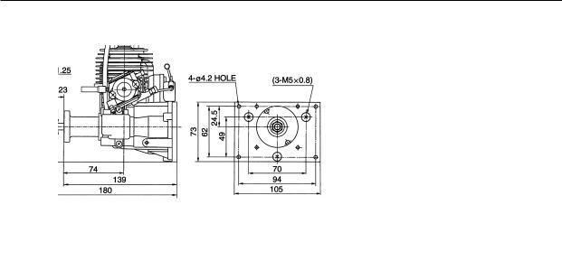 Zenoah G45, G26-231MARINE, G26-G231 HELI, GT80 TWIN, G26