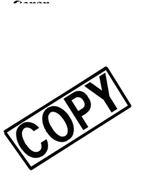 Canon OPTURA30, Optura 40 User Manual