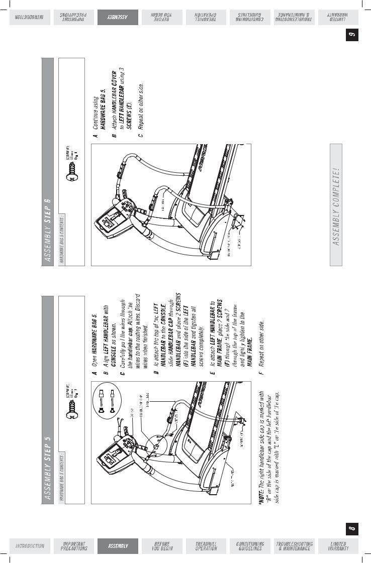Horizon Fitness ELITE T5000 User Manual