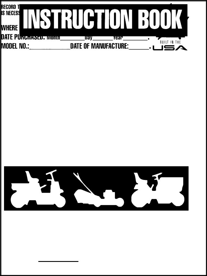 Murray 425303x92B User Manual