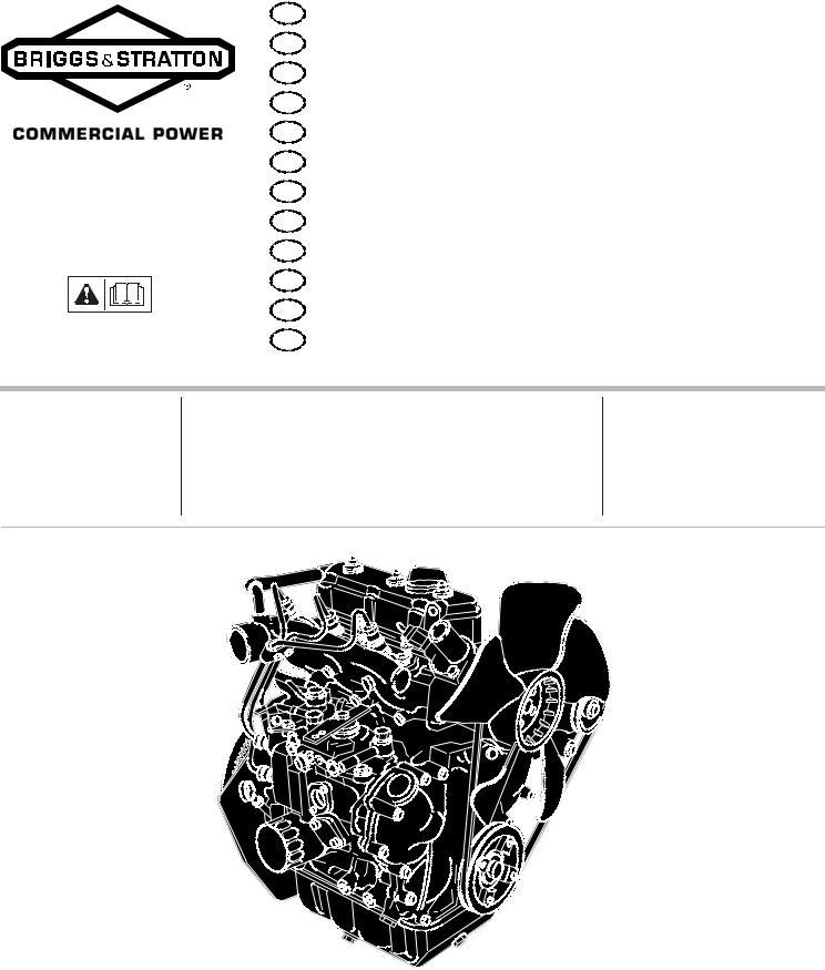 Briggs & Stratton 580000, 520000 User Manual