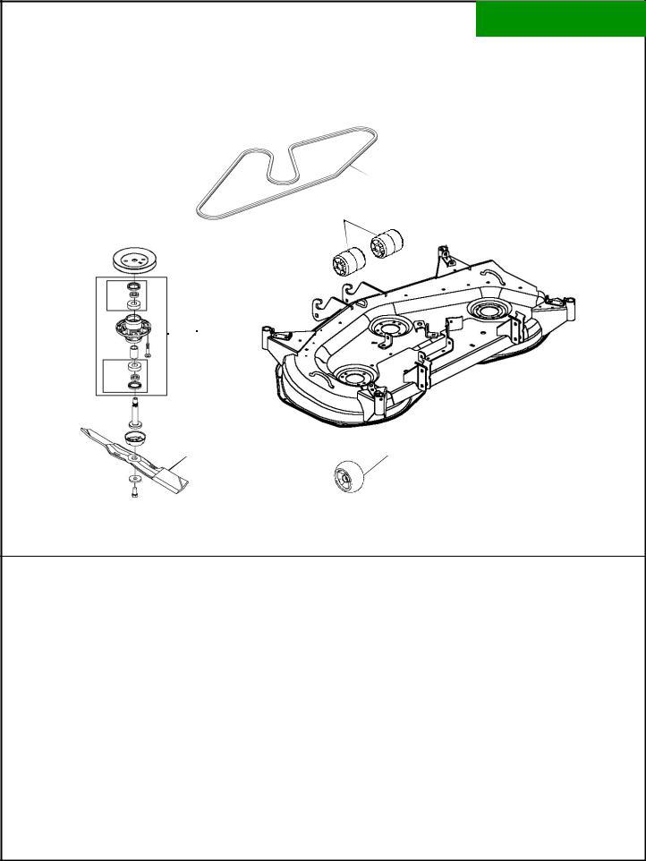 John Deere X724 User Manual