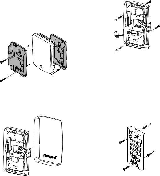 Honeywell THX9421, THX9321 User Manual