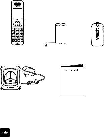VTech DS6301, DS6321, DS6322 User Manual