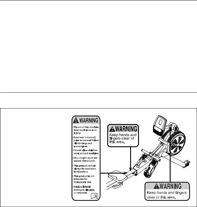 Nordictrack RW200 NTRW59146.0 User Manual