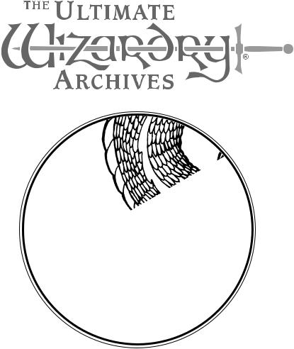Games PC WIZARDRY-ULTIMATE WIZARDRY ARCHIVES User Manual