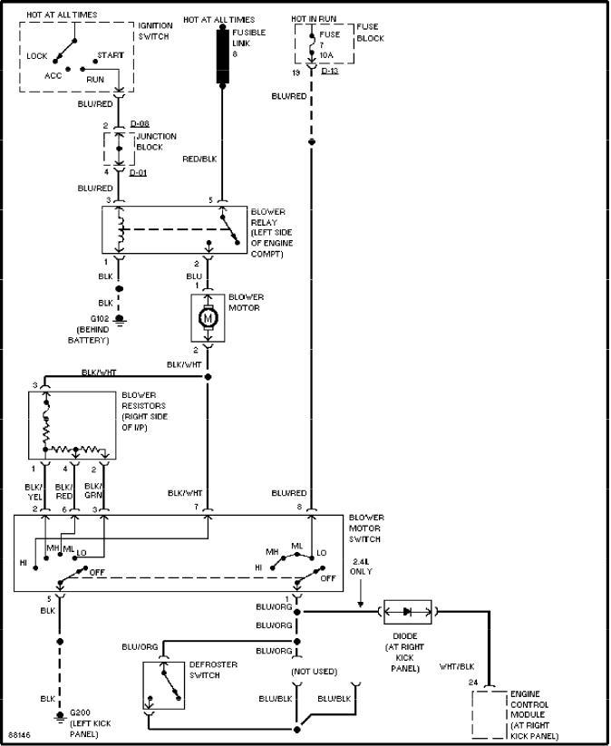 Mitsubishi Montero 1997 Wiring Diagram