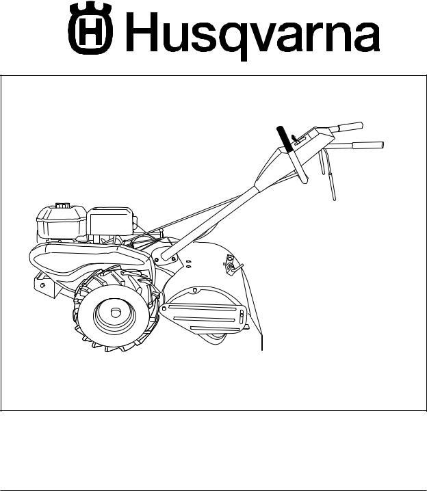 Husqvarna 650RTT User Manual
