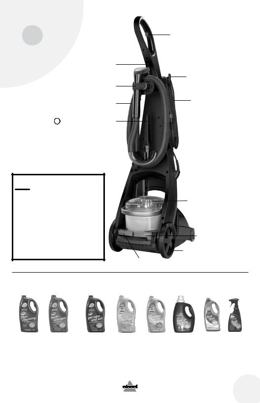 Bissell PROHEAT 25A3, PROHEAT 64D9 User Manual